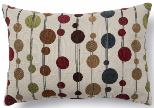 Brentwood Hodgepodge Decor Pillow Perspective: front
