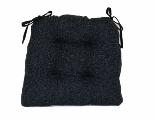 Brentwood Originals Jasper Chair Pad - Black Perspective: front