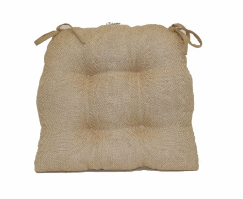 Brentwood Originals Jasper Chair Pad - Oatmeal Perspective: front