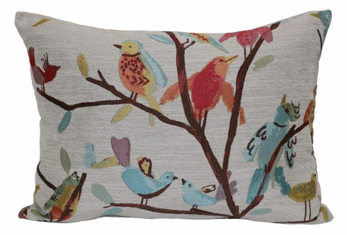 Brentwood Birdseye View Oblong Decor Pillow Perspective: front