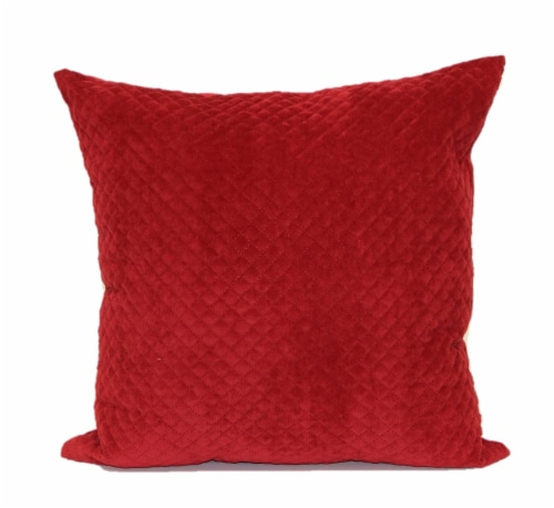 Brentwood Cheyenne Pinsonic Decor Pillow - Red Perspective: front
