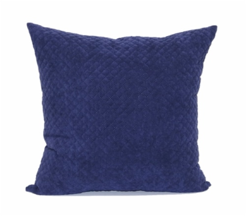 Brentwood Cheyenne Pinsonic Decor Pillow - Indigo Perspective: front