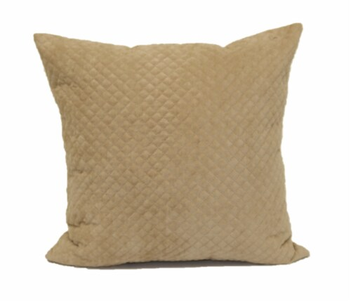 Brentwood Cheyenne Pinsonic Decor Pillow - Oatmeal Perspective: front