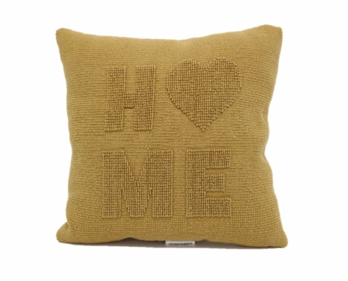 Brentwood Raised Texture Home Decor Pillow Perspective: front