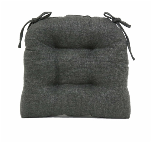 Brentwood Stafford Chair Pad - Gray Perspective: front