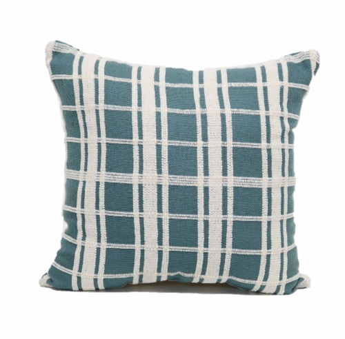 Brentwood Chenille Plaid Decorative Pillow Perspective: front