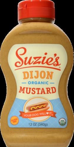 Suzie's Organic Dijon Mustard Perspective: front
