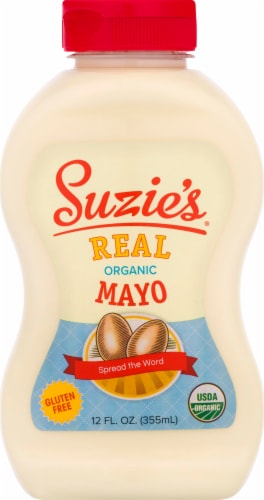 Suzie's Gluten Free Organic Mayonnaise Perspective: front