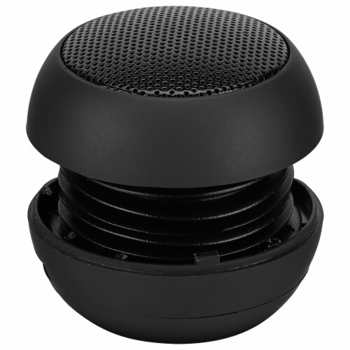 GPX Portable Speaker - Black Perspective: front