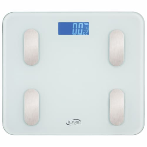 iLive Smart Digital Scale - White Perspective: front