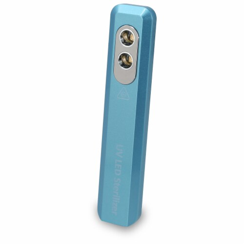 iLive Portable UV LED Sanitizer Wand - Blue Perspective: front