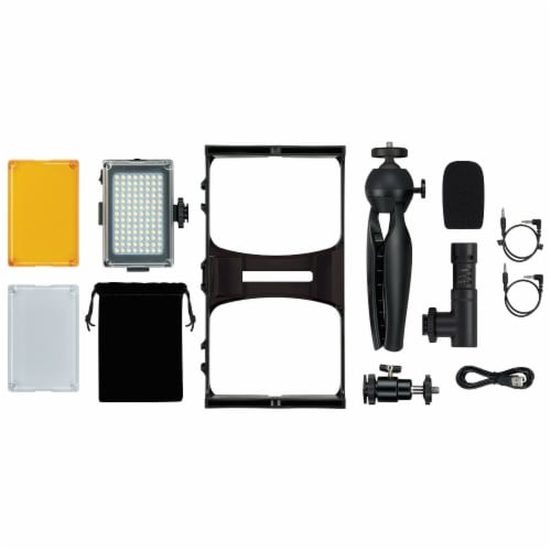 GPX All-In-One Vlogging Kit Perspective: front