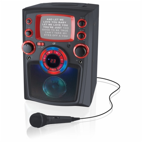 iLive Bluetooth Karaoke Machine Perspective: front
