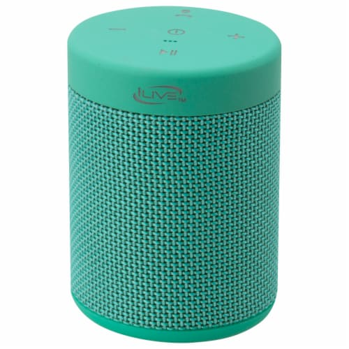 iLive Bluetooth Portable Speaker - Green Perspective: front