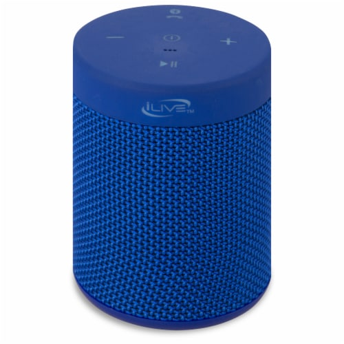 iLive Portable Waterproof Bluetooth Speaker Perspective: front