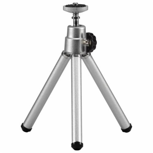 GPX Mini Tripod - Silver Perspective: front
