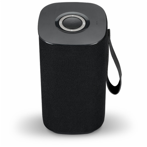 iLive Portable Bluetooth Speaker - Black Perspective: front