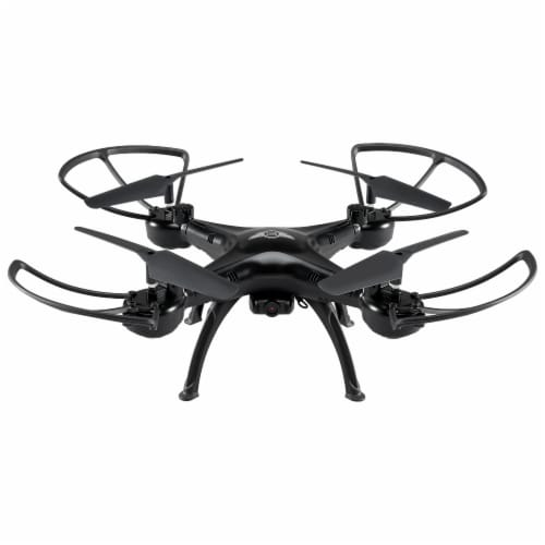Sky Rider Quadcopter Drone - Black Perspective: front