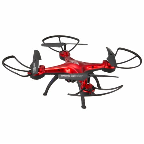 Sky Rider Quadcopter Drone - Red Perspective: front