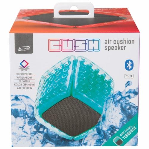 iLive ISBW101TQ Bluetooth Speaker - Aqua Perspective: front