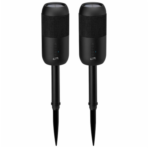 iLive ISBW240BDL Bluetooth Stake Speakers Perspective: front