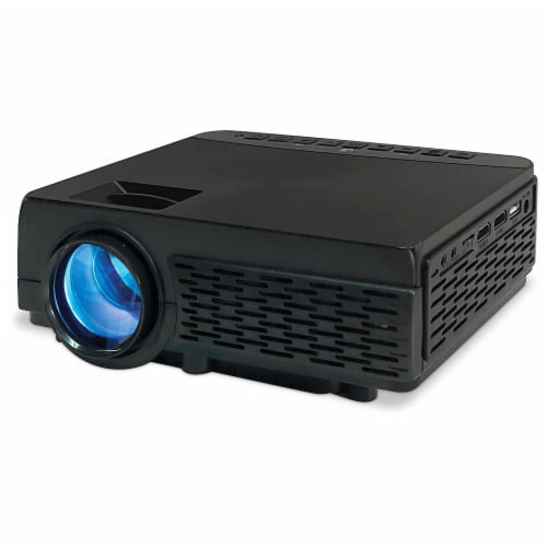 GPX Mini Bluetooth Projector Perspective: front