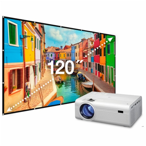 iLive Projector with Screen Perspective: front