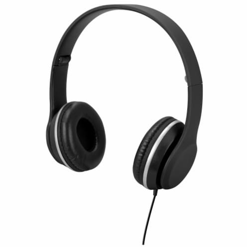 iLive Over The Ear Headphones - Black Perspective: front