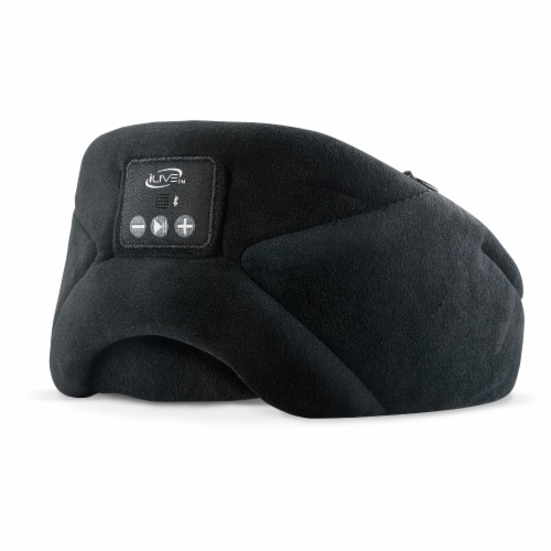 iLive IAHB31B Bluetooth Sleep Mask Headphones Perspective: front