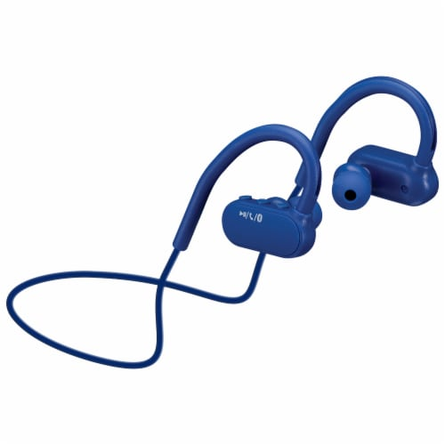 iLive IAEB29BU Bluetooth Wireless Earbuds - Blue Perspective: front