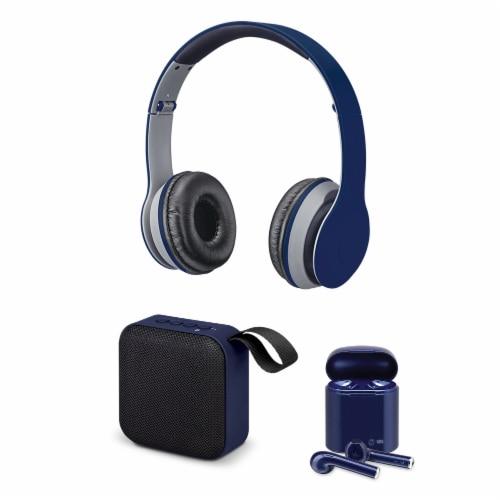 iLive Bluetooth Bundle - Blue Perspective: front