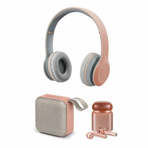 iLive Bluetooth Bundle - Rose Gold Perspective: front