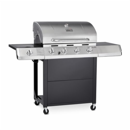 Char Broil Classic C 45G3 4 Burner Gas Grill Perspective: Front