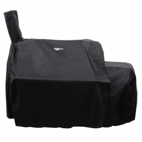 Char-Broil 8259969P04 Char-Broil Oklahoma Joes Highland Offset Smoker Cover Perspective: front