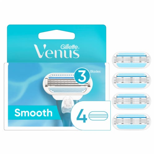 Venus Women's Smooth Razor Cartridges Perspective: front