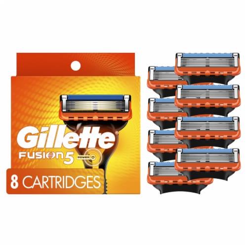 Gillette Fusion5 Men's Razor Blade Refills Cartridges Perspective: front
