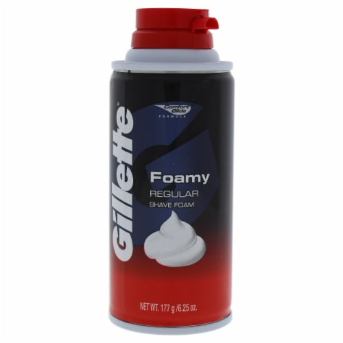 Gillette Foamy Shave Cream Perspective: front