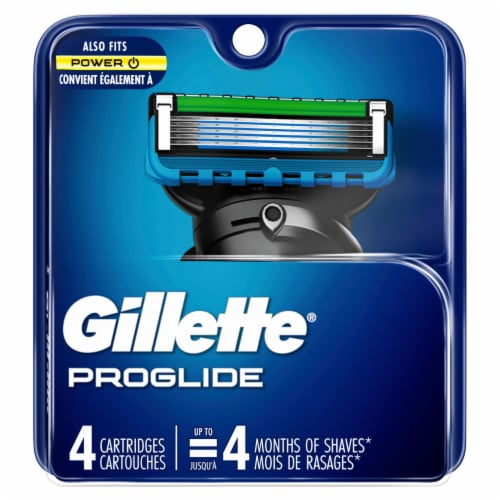 Gillette ProGlide Men's Razor Blade Refill Cartridges Perspective: front