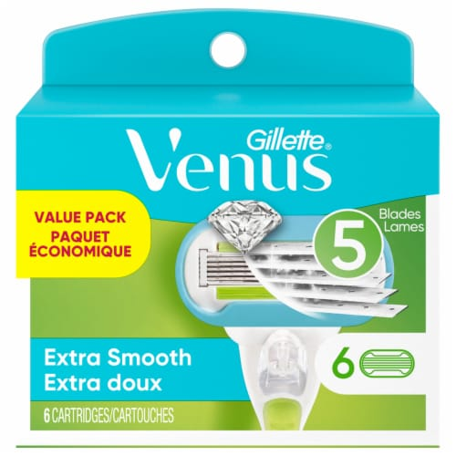 Gillette Venus Extra Smooth Refill Cartridges Perspective: front