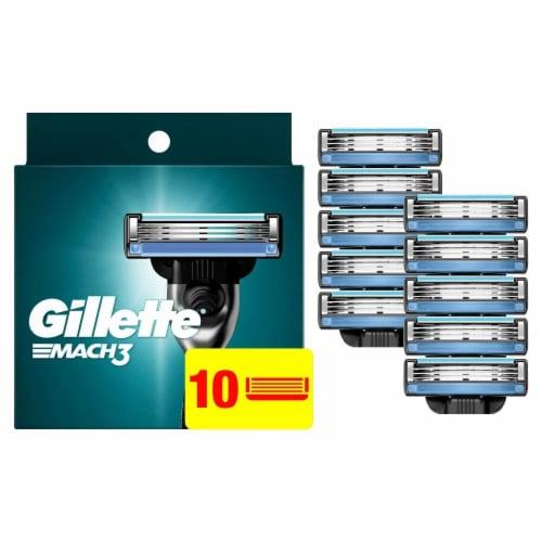 Gillette Mach3 Men's Razor Blades Perspective: front