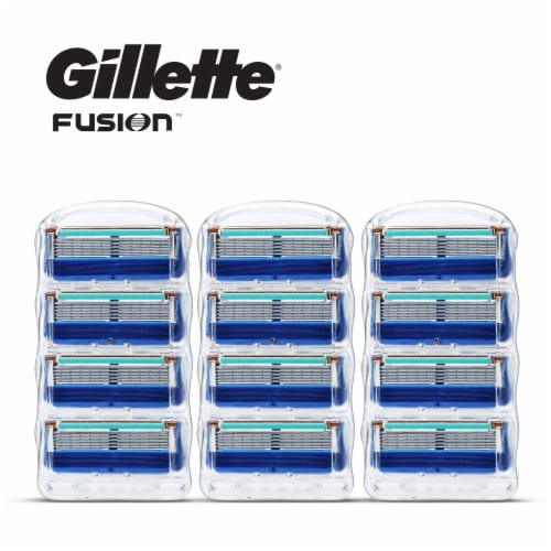 Gillette Fusion Razor Cartridges Perspective: front