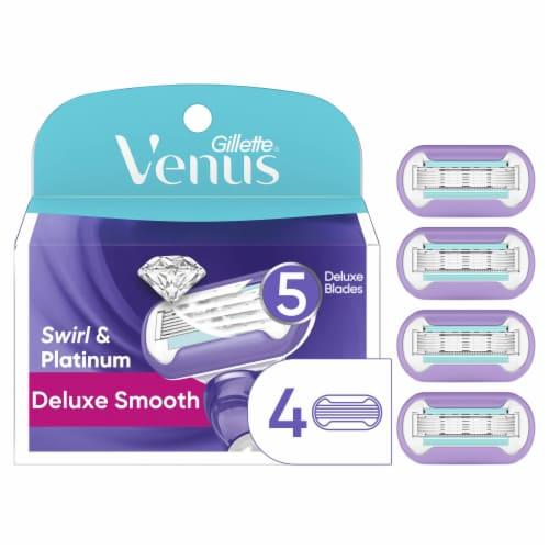 Venus Extra Smooth Swirl Women's Razor Blade Refills Perspective: front
