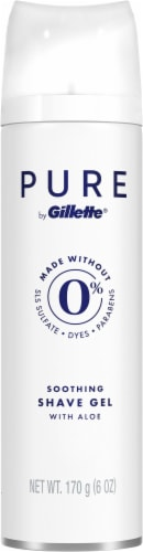 Gillette Pure Soothing Shave Gel Perspective: front