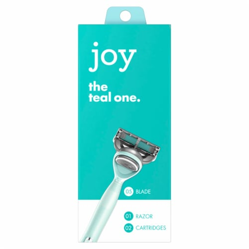 Joy The Teal One Women's Razor and Cartirdges Perspective: front