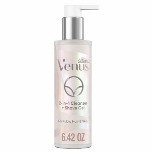 Gillette  Venus Intimates 2-in1 Cleanser + Shave Gel Perspective: front