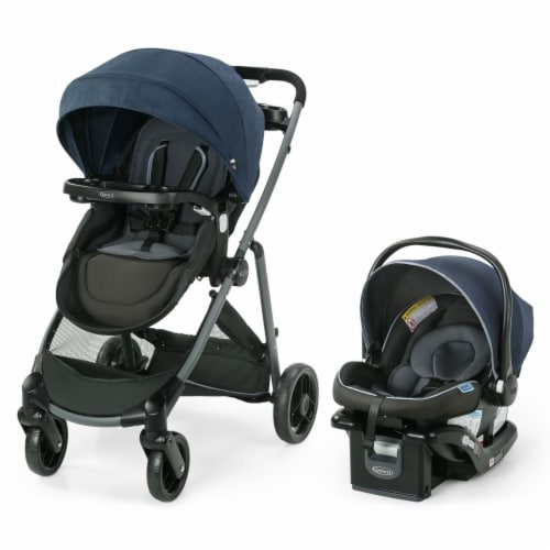 Graco 2113923 Modes Element LX Travel System, Lynwood Perspective: front