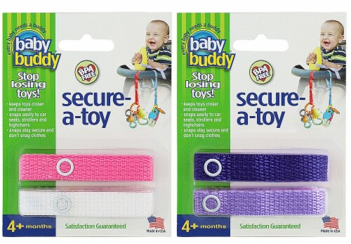 Baby Buddy  Secure-A-Toy Perspective: front