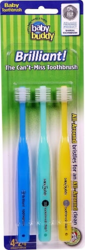 Baby Buddy Toothbrush Perspective: front
