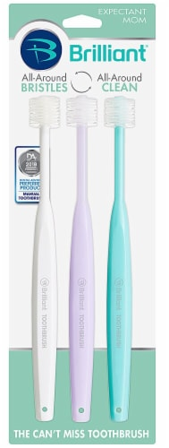 Baby Buddy Expectant Mother's Toothbrush Perspective: front