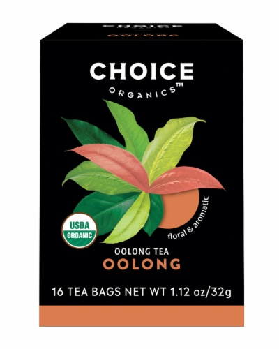 Choice Organic Oolong Tea Bags Perspective: front